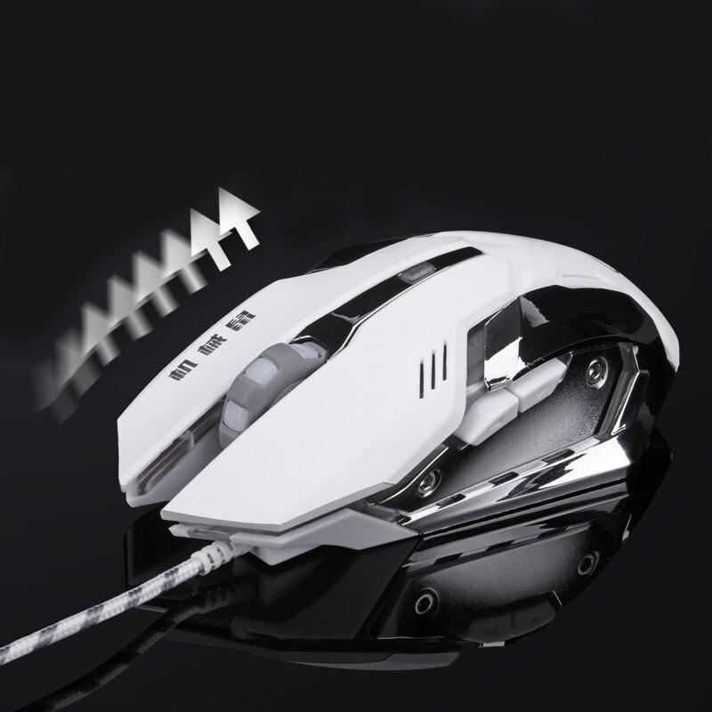 Gaming Mouse tənzimlənən 3200 DPI 6 Düymələr Optik Yüksək - Kompüter periferikler - Fotoqrafiya 3