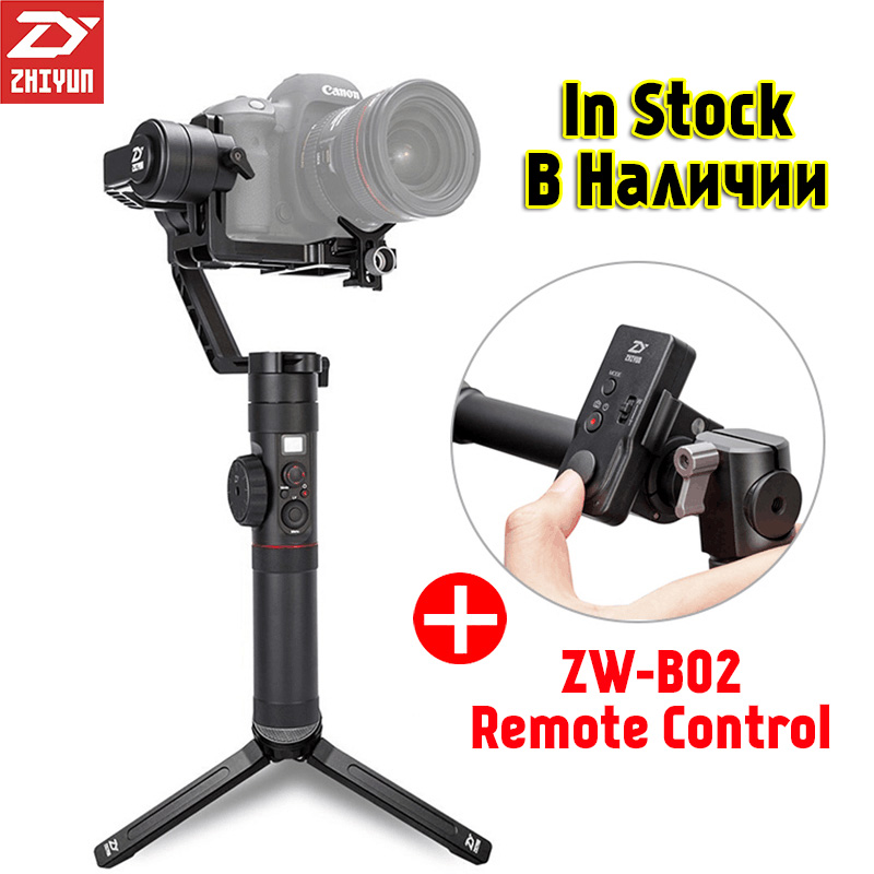 Zhiyun Crane 2 3-Axis Handheld Gimbal Video Camera Gyro Stabilizer for Canon 5D2/5D3 Nikon Sony Panasonic DSLR Mirrorless Camera latest 2017 version zhiyun crane 3 axis handheld stabilizer gimbal for dslr canon sony a7 cameras load 1800g