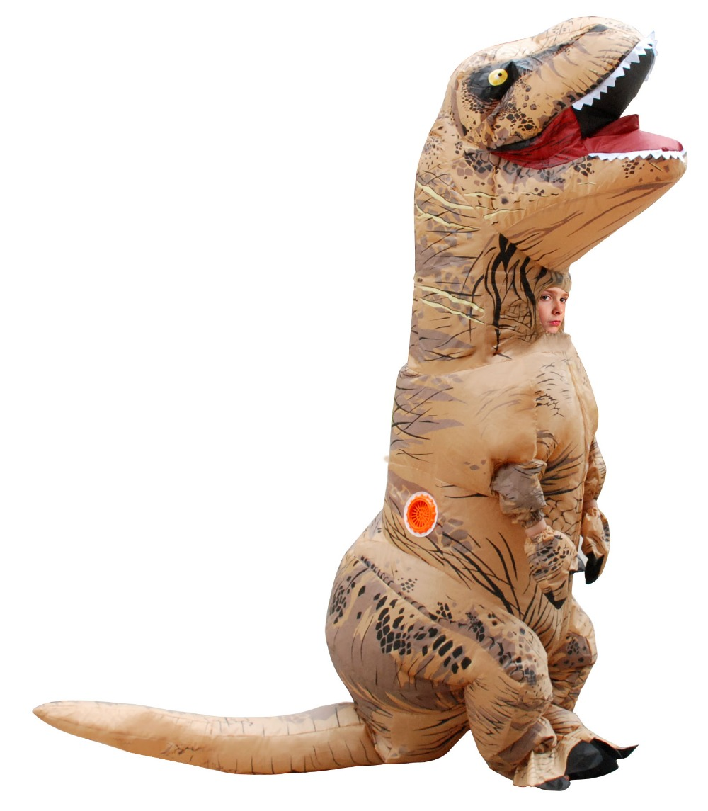 inflatable tyrannosaurus costume halloween dinosaur costumes for adult kids size T REX Fan Operated anime cosplay jumpsuit-in Anime Costumes from Novelty ...  sc 1 st  AliExpress.com & inflatable tyrannosaurus costume halloween dinosaur costumes for ...