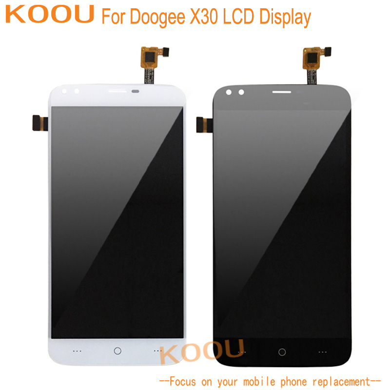 Mobile Phone LCD Display For Doogee X30 Touch Screen Digitizer Assembly Replacement Mobile Phone Parts For Doogee X30