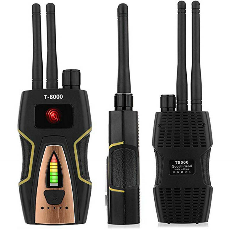 Back To Search Resultssecurity & Protection Security Alarm gold The Cheapest Price Anti-spy Wireless Rf Signal Detector Bug Gps Camera Signal Detector For Hidden Camera Gsm Listening Device T8000