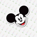 D3-061 Mickey Mouse Notebook Etiqueta/frigorífico/skate/trole/mochila/Mesas/livro etiqueta DO PVC adesivo NO929