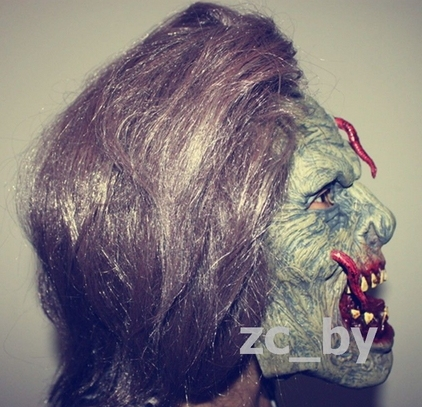 HALLOWEEN ADULT MASK HORROR ZOMBIE MASKS LATEX FULL HEAD