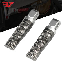 High quality Motorcycle Rear Footrest Foot Pegs For Honda CBR600RR/ABS CBR 600/F4/F4i CB 900/CB600 HORNET CB1000R/ABS Moto parts
