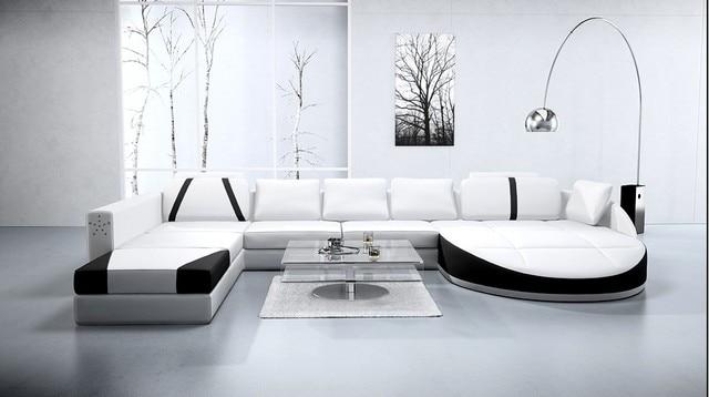 Divano ad angolo moderno divano del soggiorno A1121 in Divano ad ...