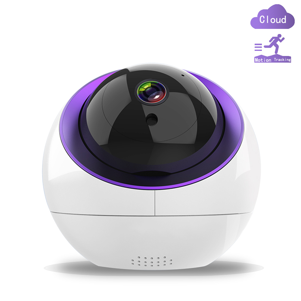 1080P Cloud IP Camera HD Auto Tracking Night Vision Security Surveillance Home Security Wireless WiFi Network CCTV Baby Monitor
