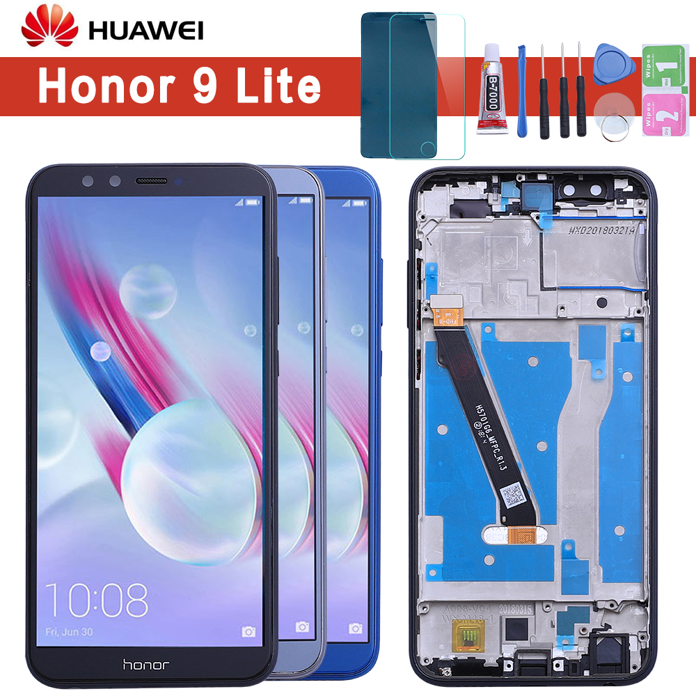 <font><b>Original</b></font> Display For HUAWEI <font><b>Honor</b></font> <font><b>9</b></font> <font><b>Lite</b></font> LCD Touch Screen Replacement for HUAWEI <font><b>Honor</b></font> <font><b>9</b></font> <font><b>Lite</b></font> Display LCD lld-al00 al10 tl10 image