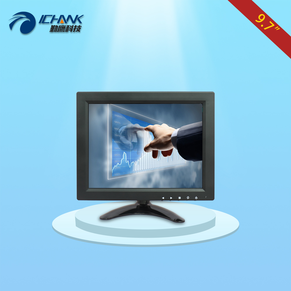 B097JC-ABHUV/9.7 inch IPS 1080p touch monitor/9.7 inch mini touch monitor/9.7 inch HDMI Industrial Medical Aerial touch monitor;