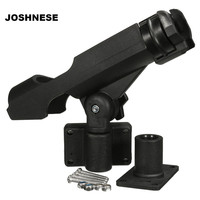 Boat Assault Boats Kayaking Yacht Fishing Tackle 360 Rotatable Fishing Support Rod Holder Bracket With Screws