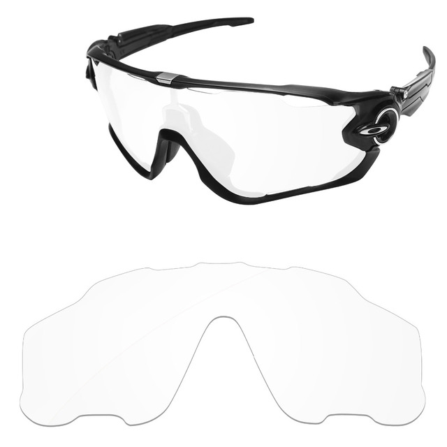 f98b042589caf Crystal Clear Replacement Lenses For Jawbreaker Sunglasses Frame 100% UVA    UVB Protection