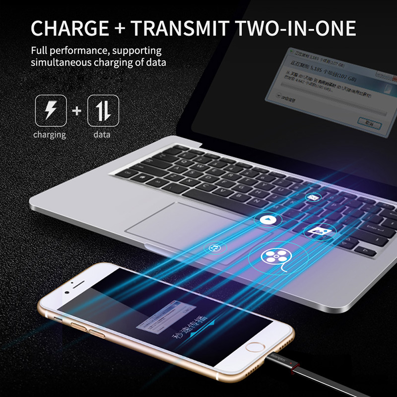 Image 4 - GARAS Reused USB Cable For iPhone/Micro USB/Type C Fast Charger Data Cable For iPhone/iPad/Xiaomi/Huawei Reusable USB Cable 1.5m-in Mobile Phone Cables from Cellphones & Telecommunications
