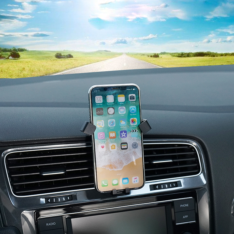 LHD For VW Volkswagen Golf 7 MK7 2014-2018 Car Air Vent Mount Phone Holder for Mobile Phone Stable Cradle Smart Phone Stand