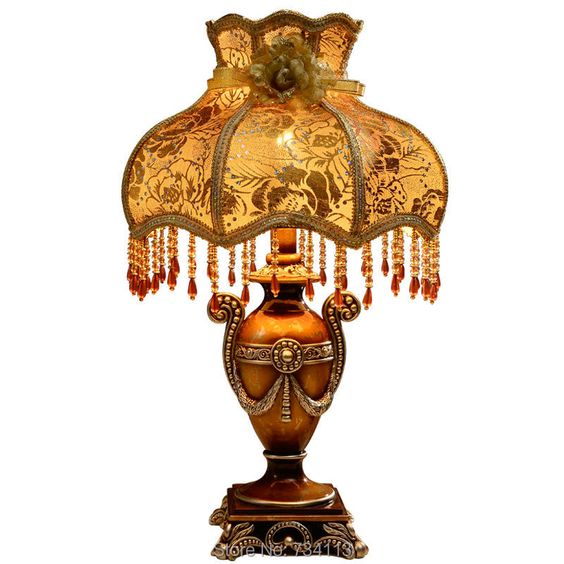 Quality Table Lamps: Table Lamp European Style Retro Design Lamp High Quality