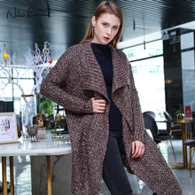 Female Cardigans Women 2018 Autumn Winter Cardigan Loose Sweaters Jumper Outerwear Jackets Overcoat Tops Long Sleeve Plus Size