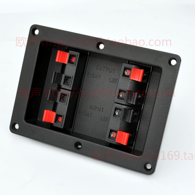 free shipping thickening speaker junction box plastic box audio rh aliexpress com Wiring a J-Box Automotive Wiring Junction Box