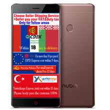 "Zte nubia z11 qudcomm snapdragon 820 quad core cpu handy 4g ram 64g rom 5,5 ""FHD FDD LTE Android OS 3000 mAh 16MP Kamera"