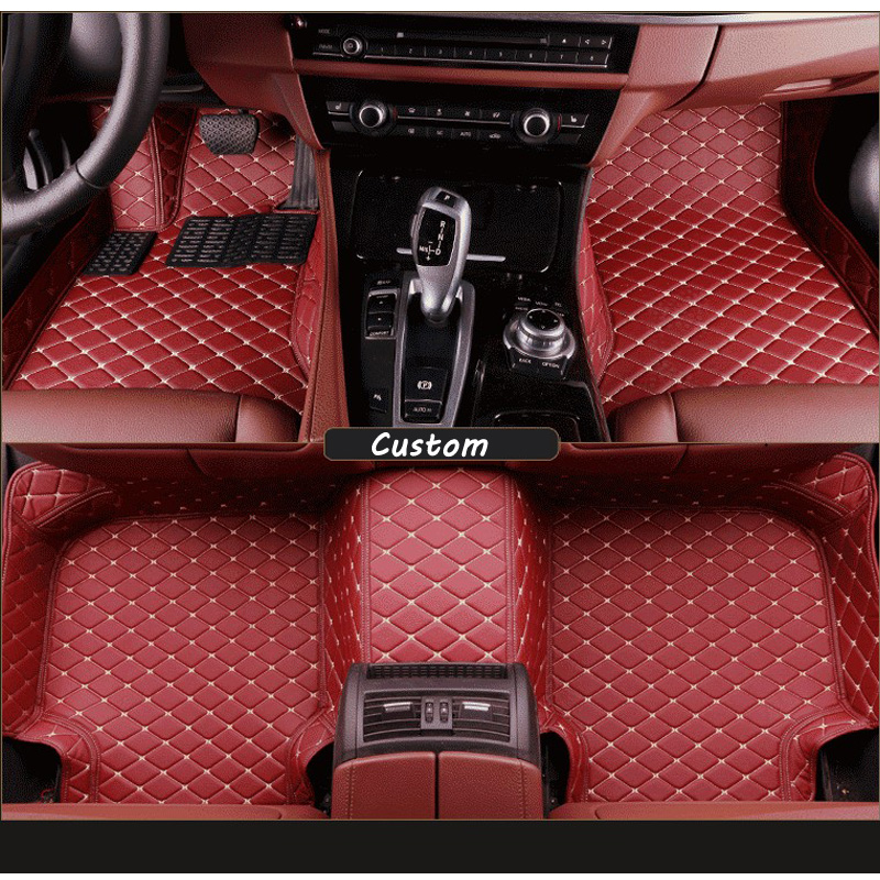 Car Floor Mats For Audi A Car Mat Black Beige Gray Brownin - Audi a4 car mats