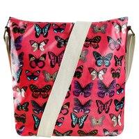 2015 Women S Shoulder Bag A4 Notebook Bags Butterfly Messenger Bags Brand Canvas School Bags Animal