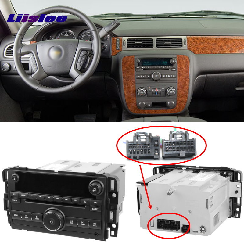 Car CD DVD Player Wire Cable For Chevrolet Silverado Suburban Tahoe Traverse Plugs Into Factory Radio DIN Female