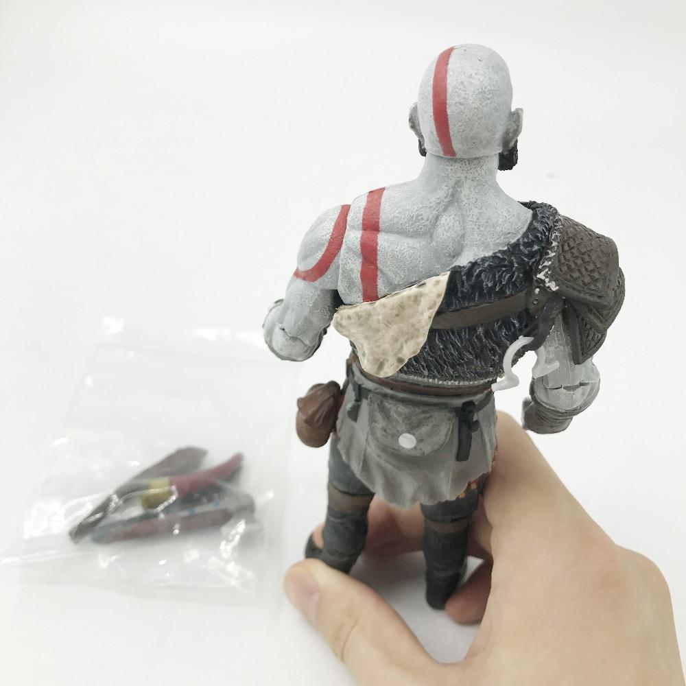 Tobyfancy NECA Game God Of War Kratos կացինով PVC - Խաղային արձանիկներ - Լուսանկար 5