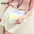 AEQUEEN Shining Women Day Clutches New Brand Design Lady Zipper Pouch Evening Bags Fashion Small Party Envelope Bags