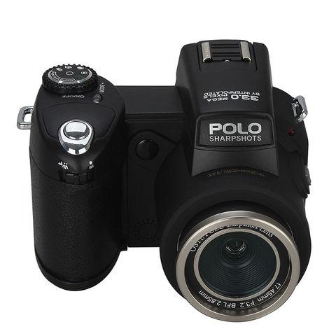 POLO D7200 Digital Camera 33MP Auto Focus Professional DSLR Camera Telephoto Lens Wide Angle Lens Appareil Photo Bag Tripod Islamabad