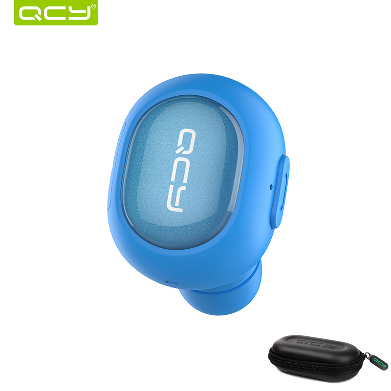 QCY combination sets Q26 car calls earphone bluetooth headset and portable storage box for iPhone Android Phone qcy sets q26 mini business headset car calling wireless headphone bluetooth earphone with mic for iphone 5 6 7 android