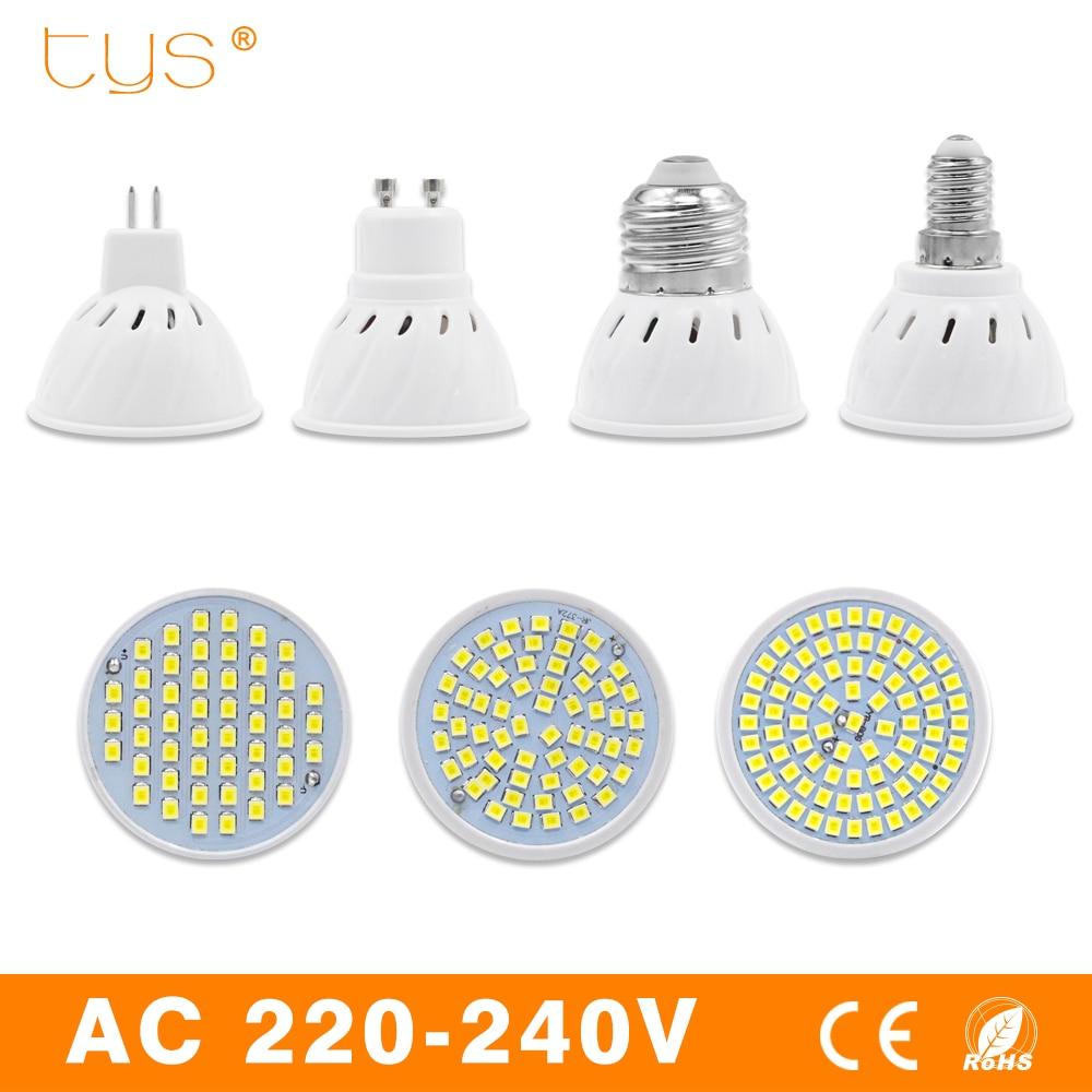 Lampada led lamp e27 e14 mr16 gu10 220v 240v bombillas led - Bombilla led gu10 ...