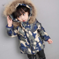 Fashion Winter jacket children Coat for Girls cotton Children Clothing Girls Boys hooded Jackets Outwear