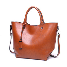 Brand PU Leather Women Shoulder bag Handbag Fashion High quality bag Woman Messenger Black Brown Red Large leather Tote bag 2018 brown bag high quality leather messenger bags brand fashion design cross body flap box handbag black green white color