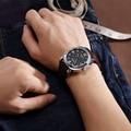 JEDIR fashion military leather quartz watch men casual business waterproof luminous analog male wristwatch man free shipping