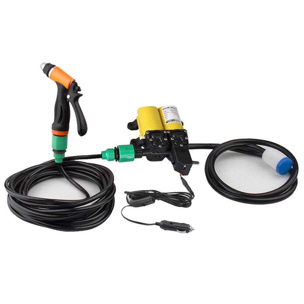 Портативный 12 В 100 Вт 160PSI автомобиль чистым электрический шайба мыть водяной насос