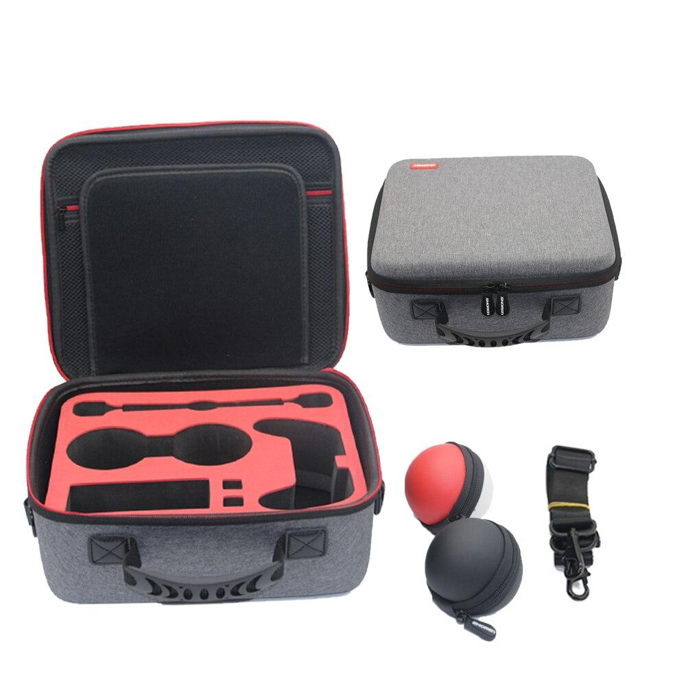 Etui de voyage pour NS ntint Switch sacoche pochette étui à main pour nessa Switch NS Pokeball manchon boîte de protection