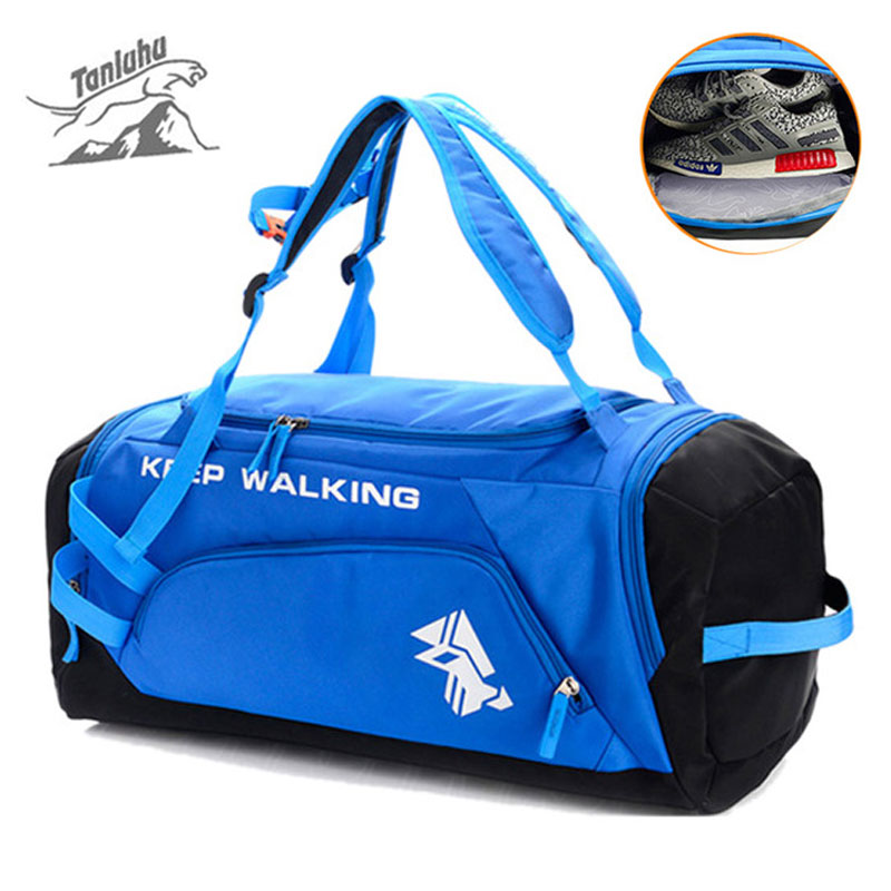 Gym Bags Purposeful Big Multifunctional Sports Gym Male Bag For Shoes Training Ball Bag Backpack For Women Fitness Yoga Travel Luaage Bag Xa257wd