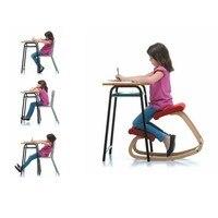 Табурет домашняя офисная мебель эргономичная деревянная стул. Детское кресло, детское кресло для коррекции осанки