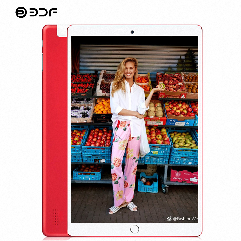 BDF 10 Inch Tablet Pc Android 7.0 1280*800 IPS Quad Core 1GB/32GB Mobile Phone Tablet Tablette Pc Tablet Android 3G Tablets 10.1