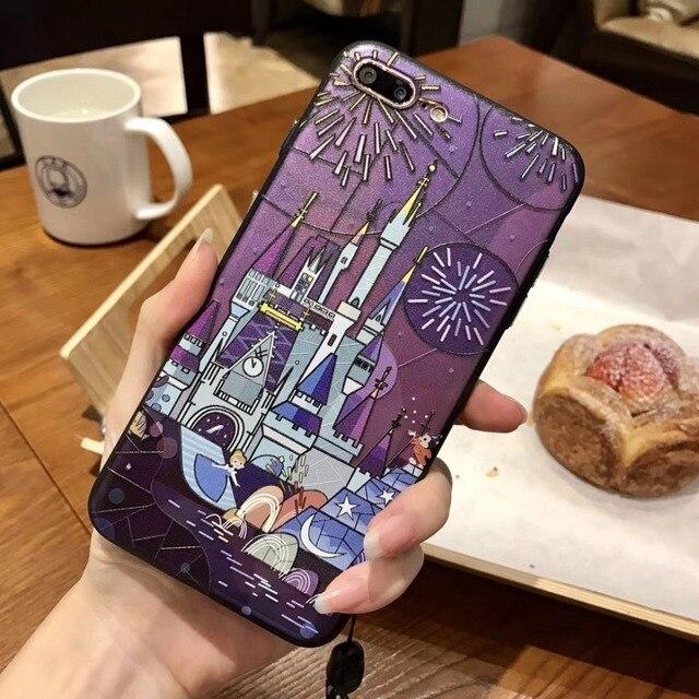 kerzzil cinderella castle dumbo for iphone 7 6 6s 8 plus cute