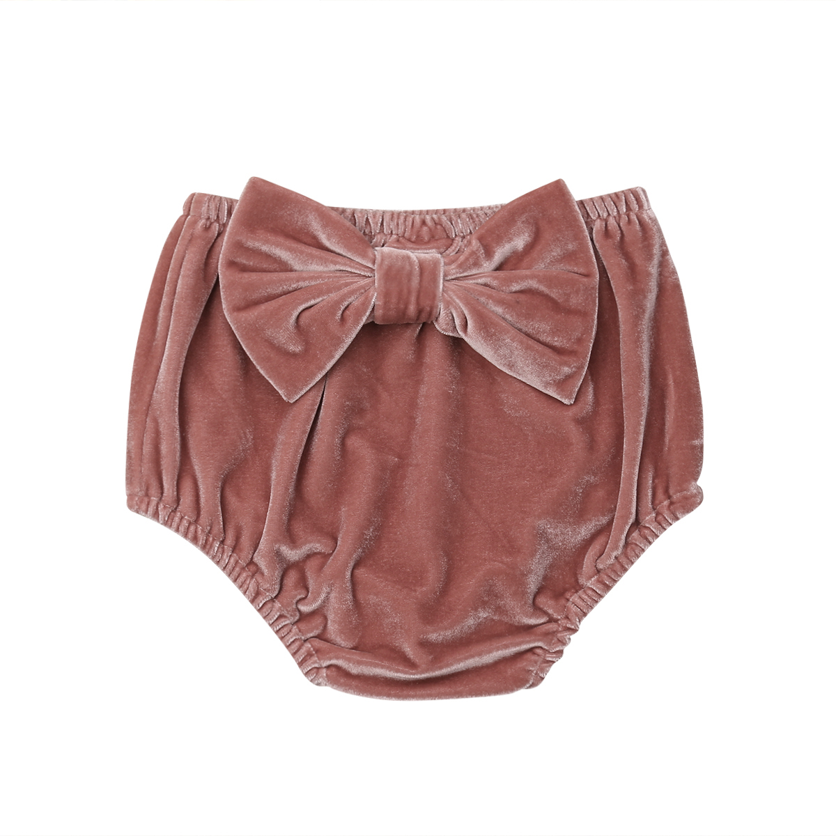 Cute Toddler Infant Kids Baby Girl Clothes Velvet Bow Panties PP   Shorts   Bottoms Bloomer Warm Casual Baby 0-3T