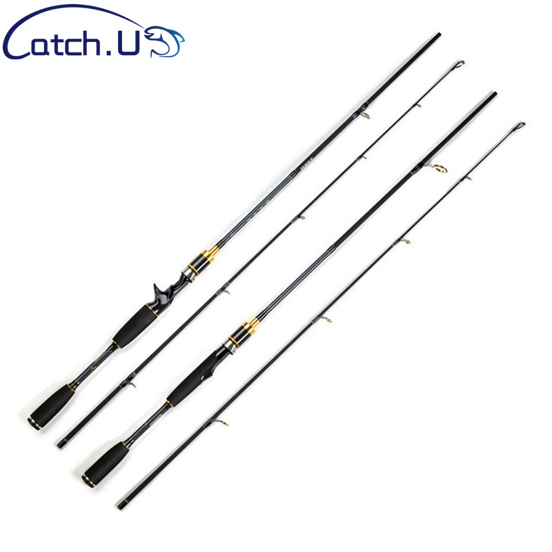 1.8M M Power 7-25g 10-20LB Travel Casting Spinning Carbon Lure Fishing Rod