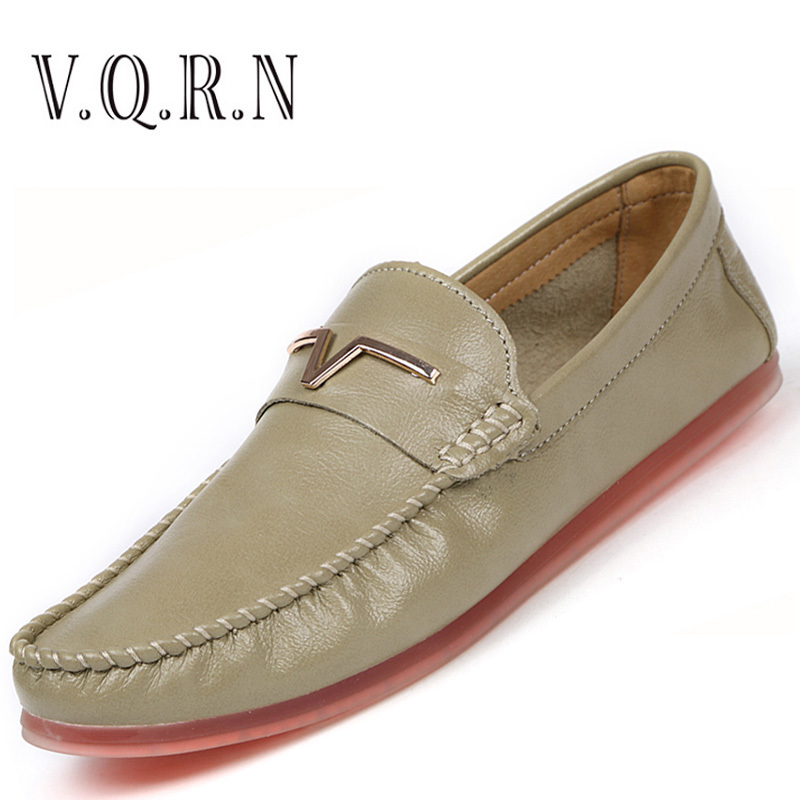 VQRN Summer Men Loafers 2017 New Mens Soft Boat Shoes Breathable Soft Leather Driving Shoes Flats 2017 new fashion summer spring men driving shoes loafers real leather boat shoes breathable male casual flats