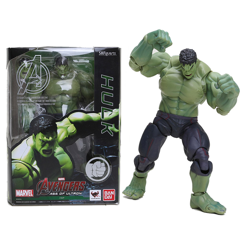The Avengers SHFiguarts The Hulk PVC Action Figure Collectible Model Toy