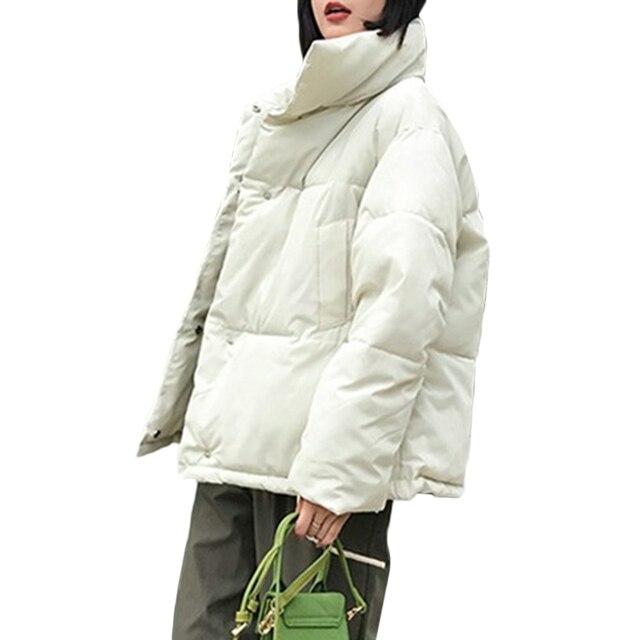 Nouveau femmes manteau dhiver femme chaud vers le bas coton veste femmes coréen pain service wadd vestes parkas femme veste manteaux A941