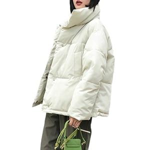 Image 3 - Nuevo abrigo de invierno para mujer, Chaqueta de algodón cálida para mujer, servicio de pan coreano, chaquetas acolchadas, chaqueta parka femenina, abrigos A941