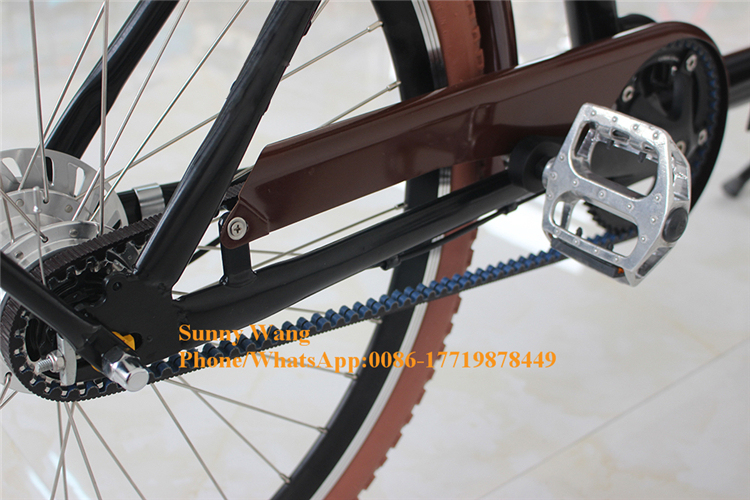 Front Loading Electric Cargo Bike 2 Wheel With 250w Motor With