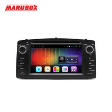 MARUBOX 2 Din Автомобильный мультимедийный плеер для Toyota Corolla E120 2003-2006 BYD F3 Android 7,1 2 ГБ Оперативная память 32 ГБ Встроенная память DVD gps радио 6A900DT3