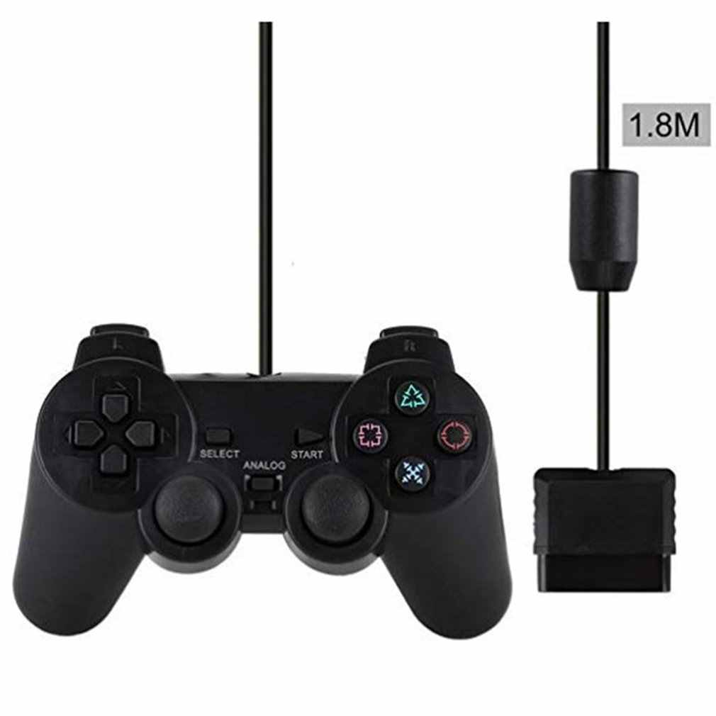 Bedrade Controller Gamepads Voor Sony PS2 Playstation2 Dual Shock Console Video Game Joystick Gamepads Lange Kabel Joypad