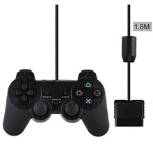цена на Wired Controller Gamepads For Sony PS2 Playstation2 Dual Shock Console Video Game Joystick Gamepads Long Cable Joypad