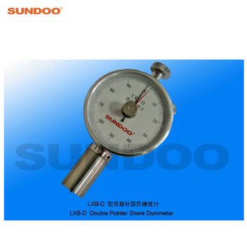 Pointer Rubber Plastic Shore Double Durometer Sundoo LXB-D