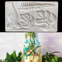 Große Schildkröte Blatt Silikon Form Designer DIY Wand Panel Schmuck Anhänger Tisch Dekorative Kerze Aromatherapie Gips Form