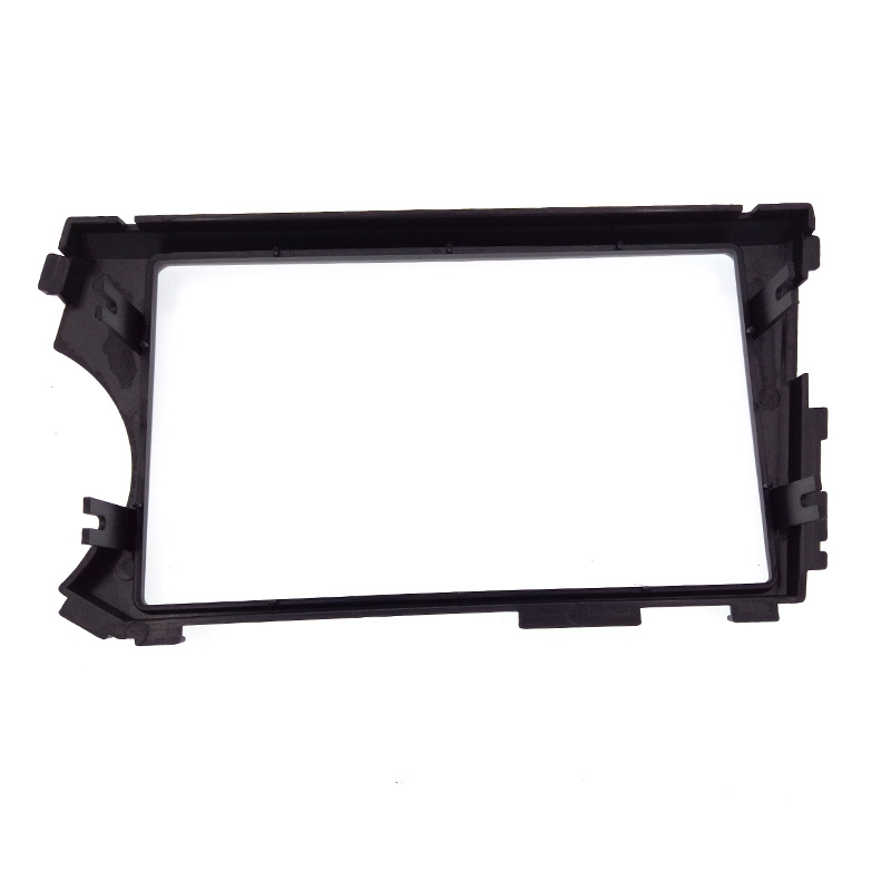 Image 3 - 2DIN Radio Fascia for SSANG YONG Actyon LHD (Left Hand Drive) Facia Dash CD Trim Installation mount Kit facia frame panel-in Fascias from Automobiles & Motorcycles